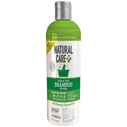 Natural Care Flea and Tick Dog Shampoo | Flea...