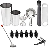 Tiger Chef 14 Piece Stainless Steel...