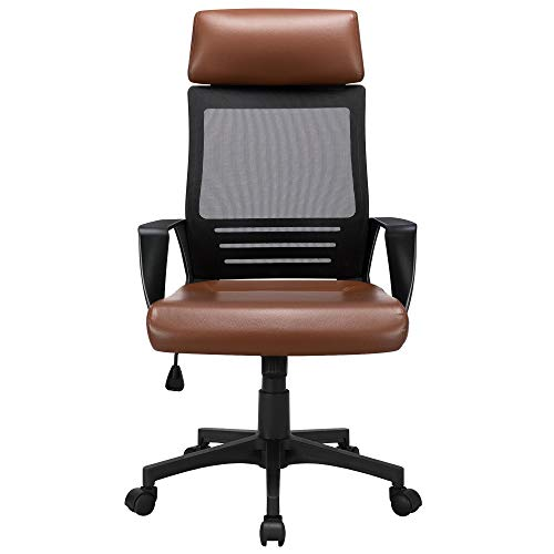 YAHEETECH Ergonomic Mesh Office Chair with...