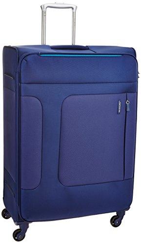 [サムソナイト] スーツケース キャリーケース アスフィア スピナー76 保証付 106L 76 cm 3.6kg ブルー