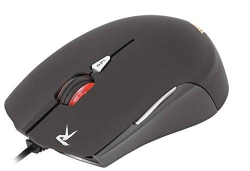 Gamdias OUREA - Ratón para Gaming (USB, 2500 DPI, óptico) color negro