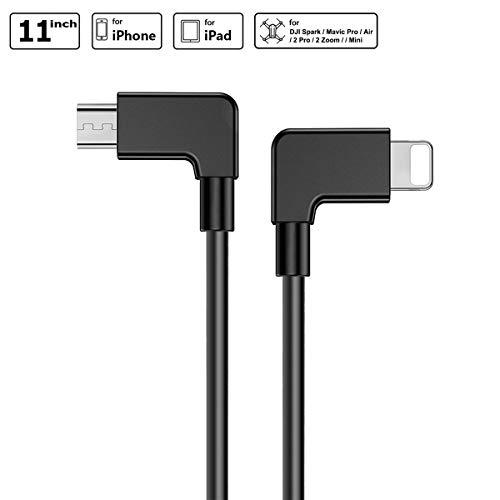 iEago RC Video Cavi Dati Micro USB a IOS 90 Gradi ad Angolo Retto Cavo OTG per DJI Mavic...