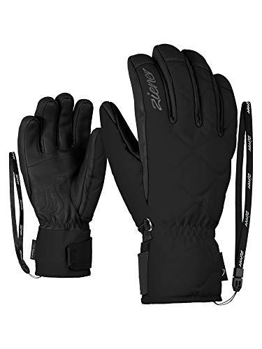 Ziener Damen Krista AS(R) AW Lady Glove Ski-Handschuhe/Wintersport, Wasserdicht, Atmungsaktiv, Black, 7
