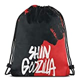 Mochila con cordón Shin Godzilla ligero clásico personalizado al aire libre mochila