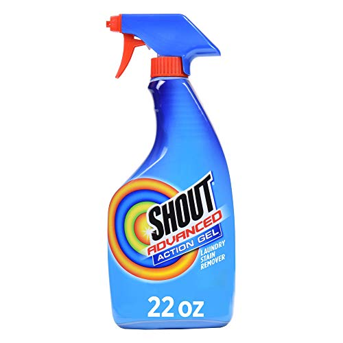 Shout Spray and Wash Advanced Action Stain Remover for Clothes, 22 oz