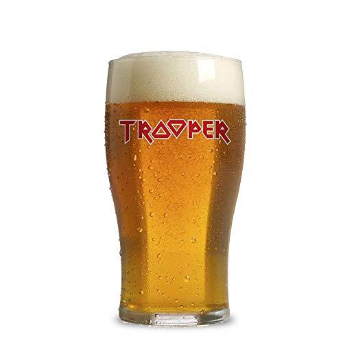 6 bicchieri da birra birra tulipani birra tulipano boccale da birra vetro bicchieri tulipano, Vetro, Senza indicatore di riempimento, 390 ml