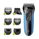 Braun Series3 Shave&Style 3010BT Rasoir Électrique Barbe Homme, Technologie...