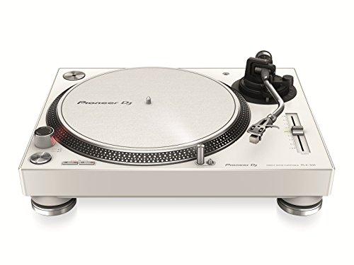Pioneer DJ, PLX-500-W, Giradischi per DJ a trazione diretta, bianco