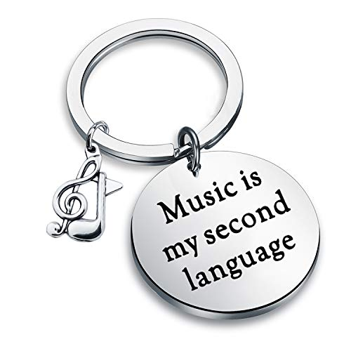 CENWA Music Lover Gift Musician Jewelry Music Is My Second...