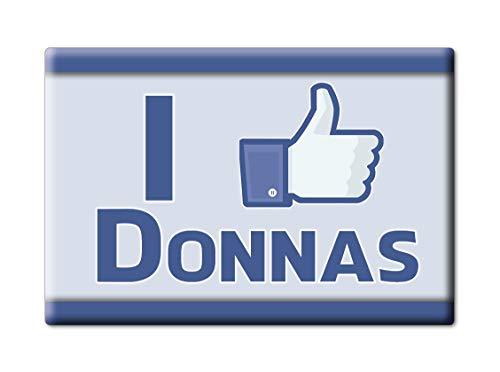 Enjoymagnets Donnas CALAMITA Magnete Valle D'AOSTA (AO) Fridge Magnet Souvenir Love (VAR. FB)