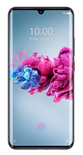 ZTE Smartphone Axon 11 (16.43 cm (6.47 Zoll) AMOLED Display, 128GB interner Speicher und 6GB RAM, 48MP Hauptkamera, 20MP Frontkamera, Dual-SIM, NFC, Android Q) Black