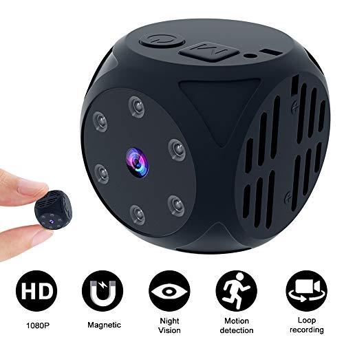 Mini Spy Hidden Camera, Wireless Full HD 1080P Portable...