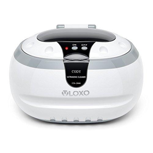 Pulitore ad Ultrasuoni VLOXO 600ml 42 KHz Display Digitale per er Pulire Gioelli Orologi Occhiali...