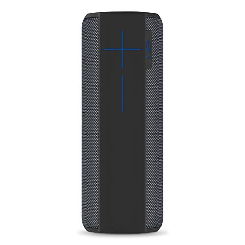 Ultimate Ears Megaboom Enceinte sans Fil Portable Bluetooth, Basses Puissantes, Etanche, Flottante, Connexion Multiple, Batterie 20h - Grise Foncée