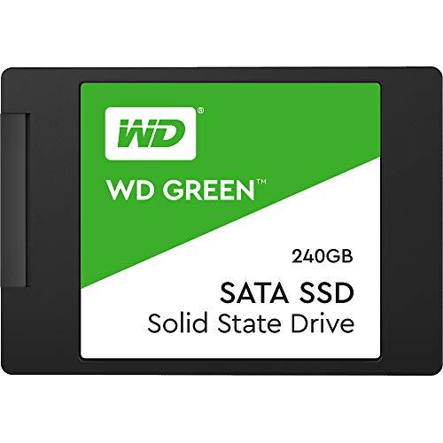 Western Digital WD Green Interna SSD 2.5' SATA, Verde, 240 GB