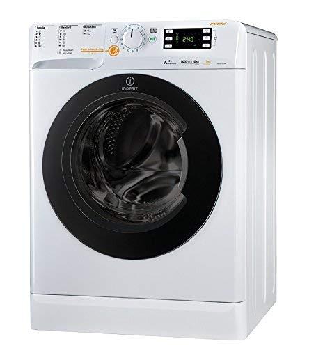 Indesit XWDE 1071481XWKKK EU Libera installazione Carica frontale A Bianco lavasciuga, Senza installazione