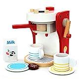 yoptote Jeux Imitations Enfants - Machine a Cafe Kit Cuisine Enfant Jouet...