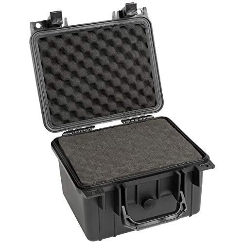 newpo Outdoor-Koffer | HxBxT 174 x 270 x 246 mm | wasserdichter Universalkoffer Transportkoffer Fotokoffer Wertsachenkoffer Kasten