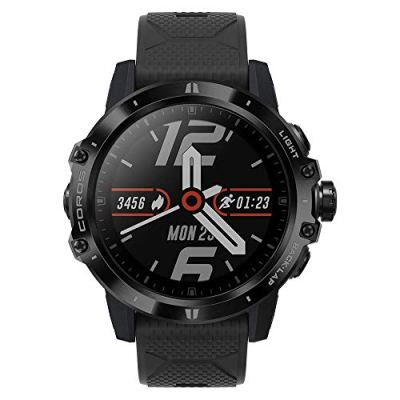COROS VERTIX GPS Adventure Watch with Heart Rate Monitor, 60h Full GPS Battery, 24/7 Blood Oxygen Monitoring, Sapphire Glass, Barometer, ANT+ & BLE, Strava & Training Peaks (Dark Rock). Top 21 Smartwatch Brands