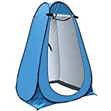 Pop Up Privacy Tent anngrowy Shower Tent Portable Outdoor Camping Bathroom Toilet Tent Changing Dressing Room Privacy Shelters Room for Hiking and Beach – UPF 40+ Waterproof with Carry Bag