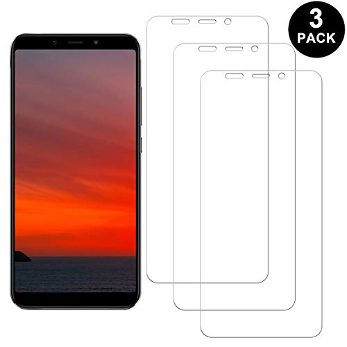 SNUNGPHIR Pellicola Protettiva per Xiaomi Mi A2 Vetro Temperato, Anti-graffio, Anti-Impronta Digitale, Senza Bolle Pellicola di Vetro, 3 Pezzi