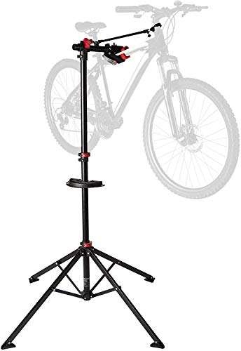 Ultrasport Cavalletto da Bicicletta, Stabile per Riparare Bici di Ogni Tipo come MTB, E-bike Fino a...