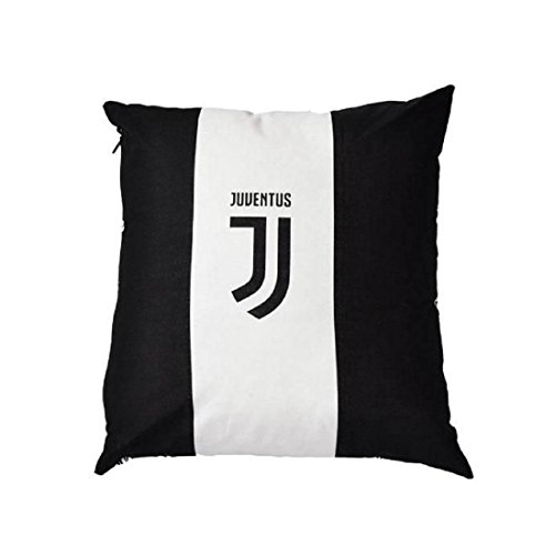 Juventus Cuscino Arredo FC-40x40-Prodotto Ufficiale, Multicolore, 40x40