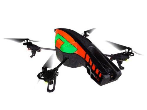 Parrot AR.DRONE 2.0 Quadricottero, Verde/Arancione