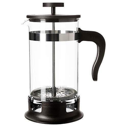 Ikea Home Upphetta Glass Stainless Steel French Press Coffee Tea Maker (34 oz)