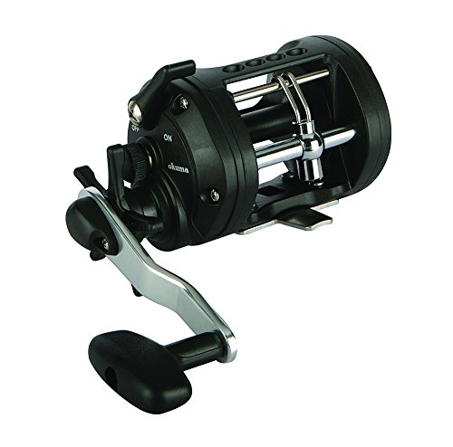 Okuma CLX-300La Classic Levelwind Star Drag Casting Reel, 300 Reel Size, 3.8: 1 Gear Ratio, 24' Retrieve Rate, 17 lb Max Drag, Right Hand