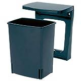 Brabantia 395246 Einbau Mülleimer, 10 Liter schwarz