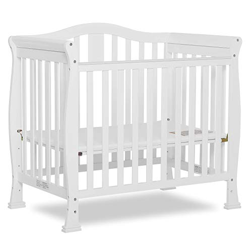 Product Image 7: Dream On Me Addison 4-in-1 Convertible Mini Crib in White, Greenguard Gold Certified