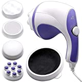 ELRINZA Relax Spin Tone Body Massager Machine, Full Body Massager for Pain Relief Spin Tone Handheld Body Massager