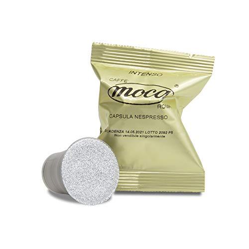 Caffè Moca Capsule Compatibili Nespresso Caffè Intenso - 100 Capsule (100% Arabica)