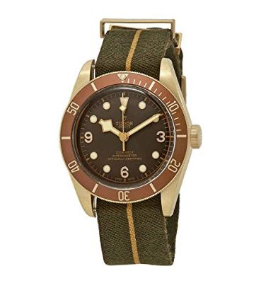 Tudor Heritage Black Bay Automatic Brown Dial Men's Watch M79250BM-0004