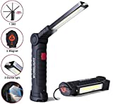Tokmali Lampe de Travail LED Rechargeable,Lampe Torche Baladeuse LED...