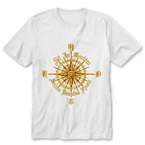 PC Gamer s Compass- Death is Only The End of The Game w DMN T-Shirt, Hoodie White