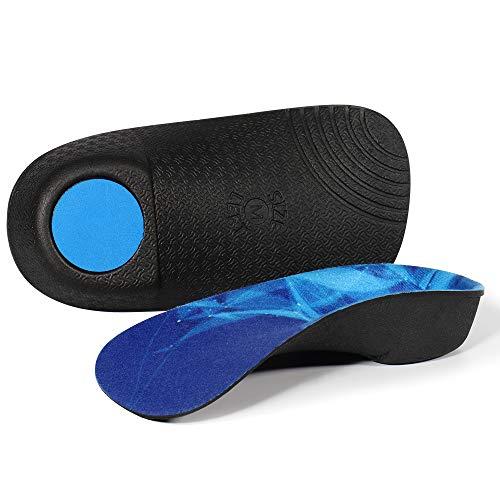 3/4 Plantillas de calzado ortopédico Soportes de arco alto...