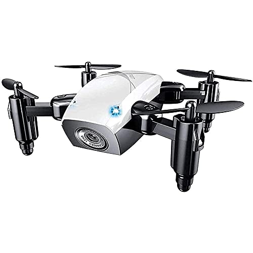 Mini Drone, Quadricottero WiFi FPV Rc con Fotocamera HD, Drone Pieghevole con Mantenimento in Quota, modalit Senza Testa, Drone Tascabile Selfie per Bambini E Principianti