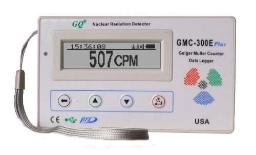 GQ GMC-300E-Plus Digital Geiger Counter Nulcear...