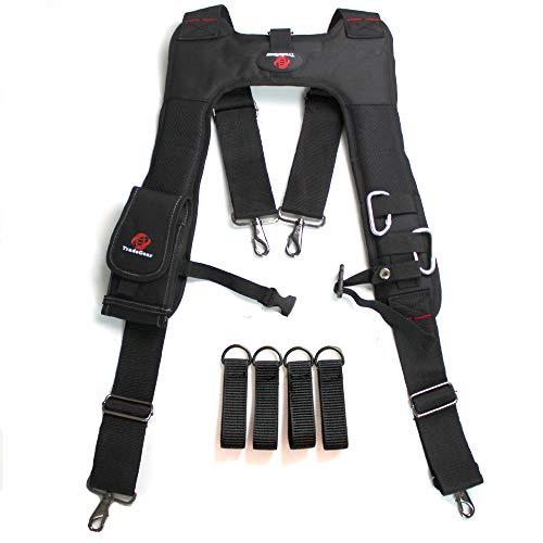 TradeGear Electrician's Belt & Bag Combo - Heavy Duty Electricians Tool...
