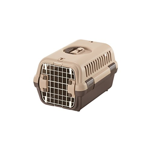 リッチェル キャンピングキャリー Sサイズ 超小型犬・猫用 ダークブラウン