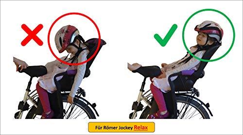 HEAD-REST - Supporto per testa e collo per seggiolino da bicicletta Rmer Jockey Relax Comfort, set...