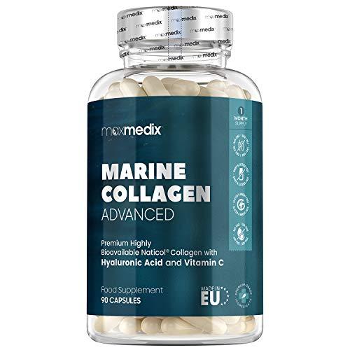 Colágeno Marino, Ácido Hialurónico, Coenzima Q10, Vitamin