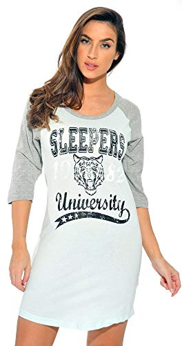 Just Love Sleep Dress for Women Sleeping Shirt Nightshirt 6084-8-S
