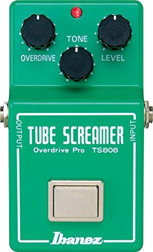 Ibanez Tubescreamer Overdrive Pro TS808 【徹底解説】Andy Timmons(アンディ・ティモンズ)のエフェクターボード・機材を解析!ツマミ・ノブの位置も分かる!ギターを支える機材の数々を紹介!【ペダル・アンプ金額一覧】
