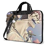 Attack on Titan Laptop Bag Maletín para Tableta Funda Protectora portátil Funda 13 Pulgadas LAPT-453