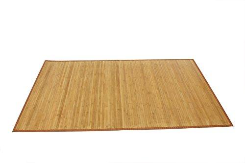 AVANTI TRENDSTORE - Dana - Tappeto in Bamboo, colore legno, disponibile in diverse misure (80x200...