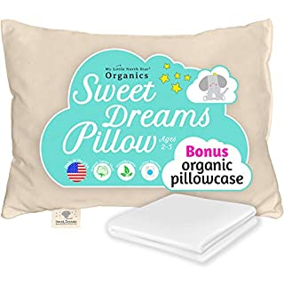 Ergonomically Designed, Chiropractor Recommended - Our 13x18 baby's pillow is perfect for children ages 2 to 5 years old. Soft and supportive and made in the USA, designed and tested to support a toddler's head, spinal & neck, without compromising on...