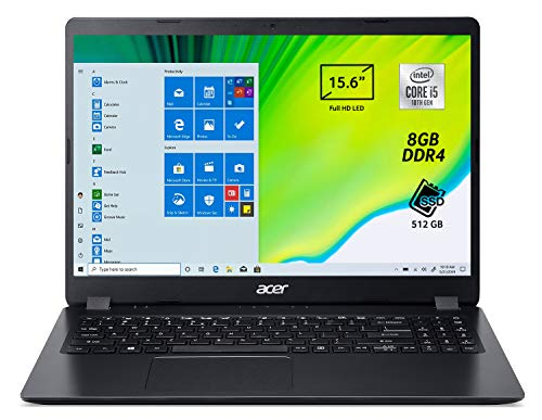 Acer Aspire 3 A315-56-5418 Pc Portatile, Notebook...
